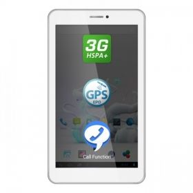 "Cortex A7 Dual-Core 1.30GHz, 7"", 512MB DDR3, 4GB, Wi-Fi, 3G, GPS, Bluetooth, Android 4.2 Jelly Bean"